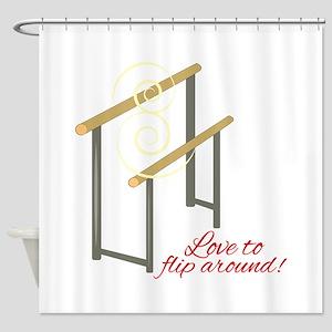 Love To Flip Shower Curtain