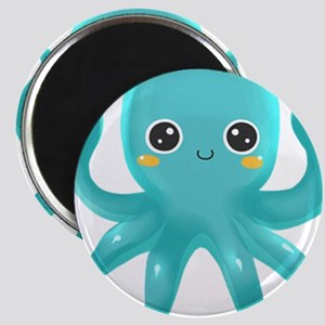Cute Blue Octopus Magnets