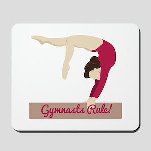 Gymnasts Rule! Mousepad