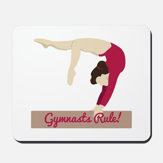 Gymnasts Rule! Mousepad
