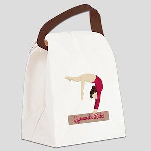 Gymnasts Rule! Canvas Lunch Bag