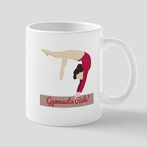 Gymnasts Rule! Mugs