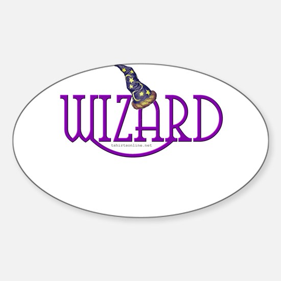 Wizard Oval Decal
