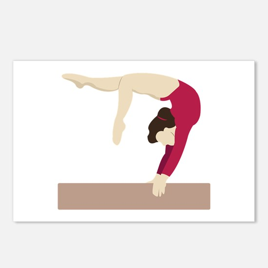 Balance Beam Postcards (Package of 8)