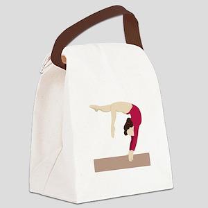 Balance Beam Canvas Lunch Bag