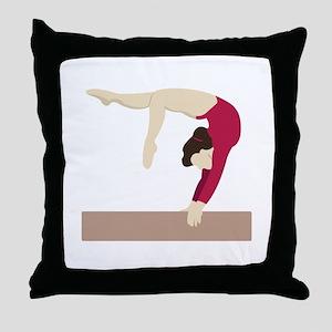 Balance Beam Throw Pillow