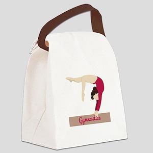 Gymnastics Canvas Lunch Bag