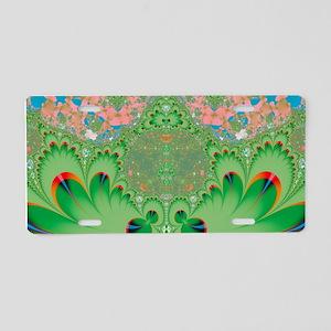 Spring Garden Aluminum License Plate