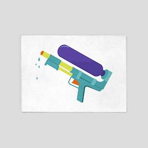 Water Gun 5'x7'Area Rug