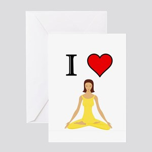 YOGA Greeting Cards