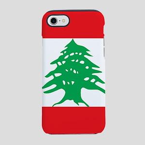 Flag of Lebanon iPhone 7 Tough Case