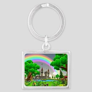 Fairytale Landscape Keychain