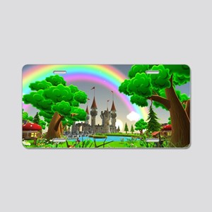 Fairytale Aluminum License Plate