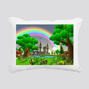 Fairytale Rectangular Canvas Pillow