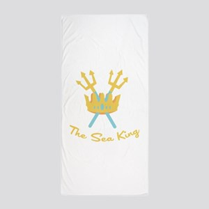 The Sea King Beach Towel