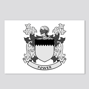 POWER 2 Coat of Arms Postcards (Package of 8)