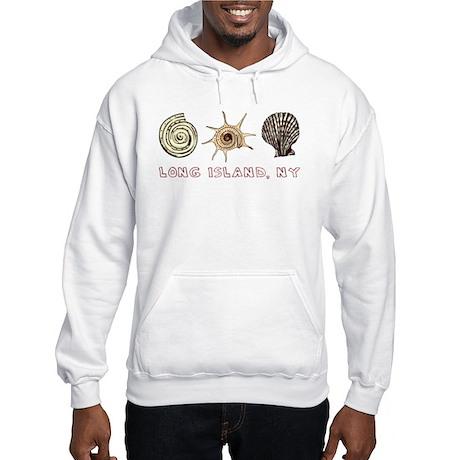 Long Island Shells Hooded Sweatshirt