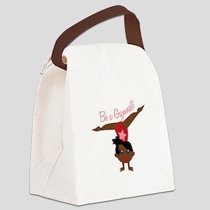 Be A Gymnast Canvas Lunch Bag
