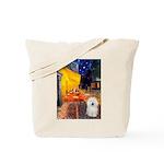 Cafe & Bolognese Tote Bag