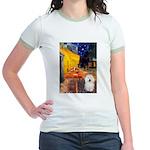 Cafe & Bolognese Jr. Ringer T-Shirt