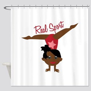 Real Sport Shower Curtain