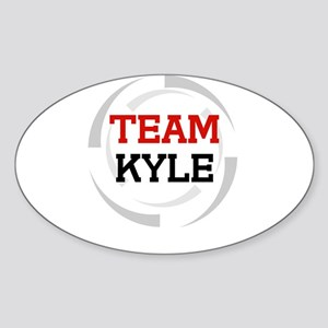Kyle Oval Sticker