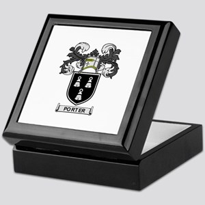 PORTER Coat of Arms Keepsake Box