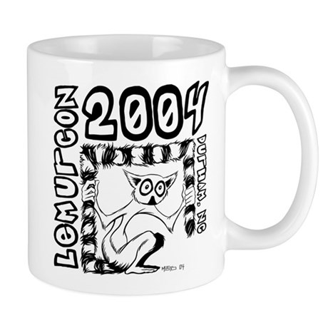 Lemurcon 2004 Coffee Mug