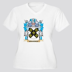 Hawkings Coat of Arms - Family Crest Plus Size T-S