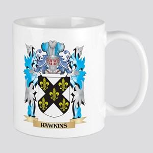Hawkins Coat of Arms - Family Crest Mugs