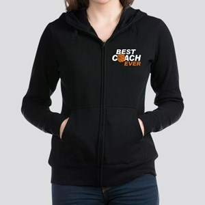 Best Coach ever Women's Zip Hoodie
