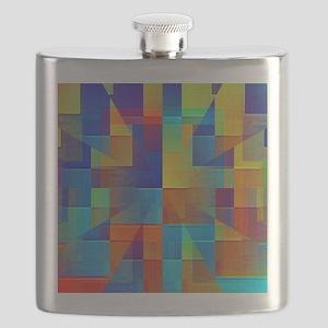 Kaleidoscope of Color Flask