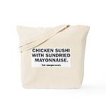 Chicken Sushi Tote Bag