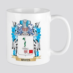 Hayes Coat of Arms - Family Crest Mugs