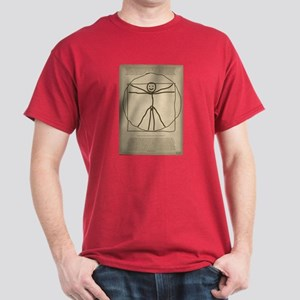 Vitruvian Stickman Dark T-Shirt