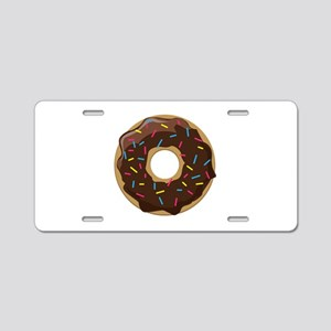 Sprinkle Donut Aluminum License Plate