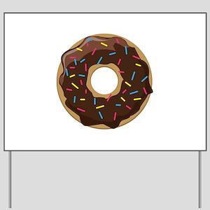 d033c5d23819 Donut Yard Signs - CafePress
