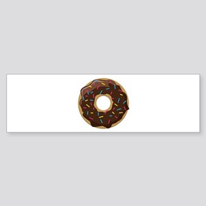 Sprinkle Donut Bumper Sticker