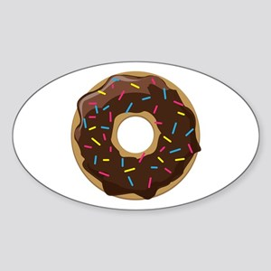 Sprinkle Donut Sticker