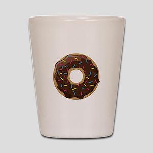 Sprinkle Donut Shot Glass