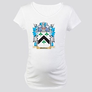 Hazell Coat of Arms - Family Crest Maternity T-Shi