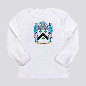 Hazell Coat of Arms - Family Crest Long Sleeve T-S