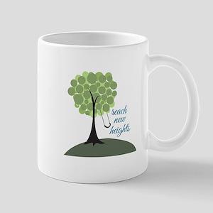 Reach New Heights Mugs