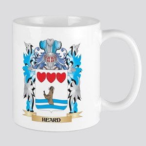 Heard Coat of Arms - Family Crest Mugs