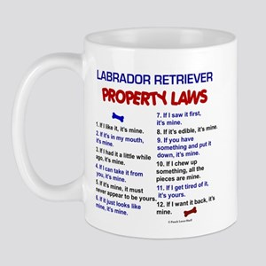 Labrador Retriever Property Laws 3 Mug