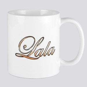 Gold Lala Mugs