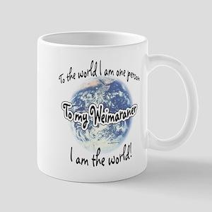 Weimaraner World2 Mug