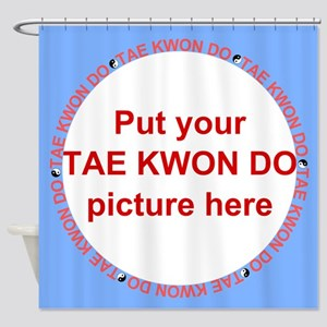 Tae Kwon Do Your Photo Shower Curtain
