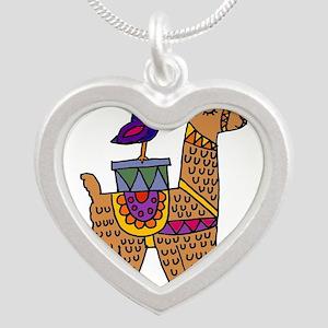 Cute Llama and Bird Cartoon Necklaces