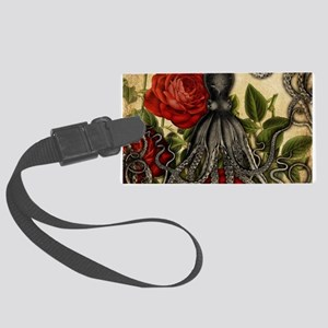 Tentacles And Roses Luggage Tag